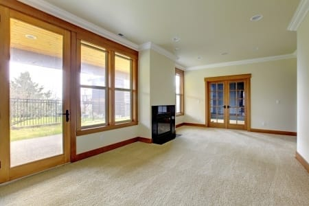 Clean Carpets in Residential House