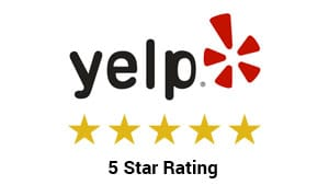Yelp Rated 5 Star Business